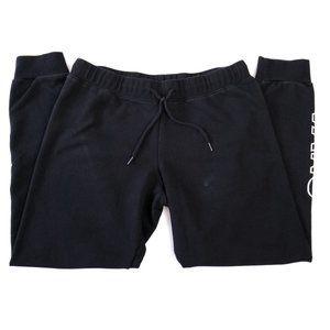 VANS Black Streetwear Active Jogger Sweat Pants M